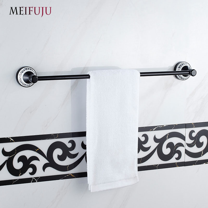 Popular hotel towel bars buy cheap hotel towel bars lots for Blue white bathroom accessories