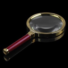 Hot 90mm Handheld Magnifying 10X Magnifier Glass Loupe Lens Reading Jewelry Map
