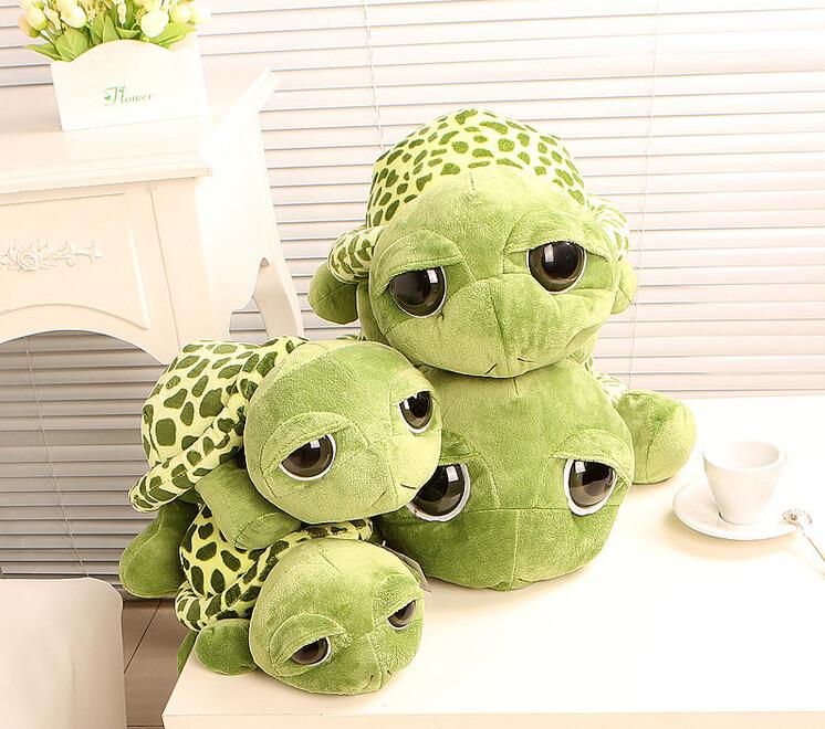 20CM lovely big eyes small turtle plush tortoise toys(China (Mainland))