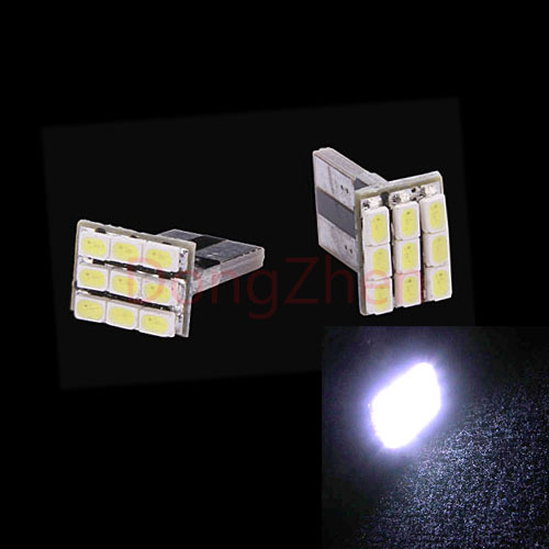 2X Auto T10 W5W Canbus 9 LED License Plate Dome Festoon Lamp Light Car Wedge 5W5 Cargo Door C5W C10W LED Light DRL Xenon 12V(China (Mainland))