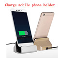 Luxury 3 In1 Ring Holder Phone Case For Apple iPhone 6 6S Plus Hard PC Anti Knock Plating Golden Phone Cover Stand E123