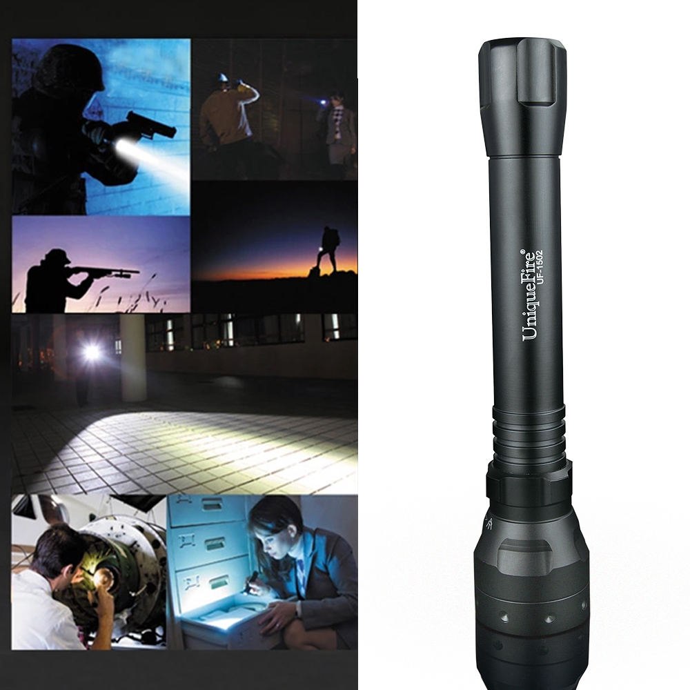New Flashlight UF-1502 850 nm Osram IR Led Torch T38 Convex Lens Aluminum Light Shockproof Waterproof Hunting Nightvision(China (Mainland))