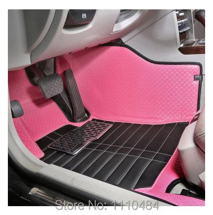 Free shipping car floor mat foot mats rugs carpets auto colorful KIA Soul Sorento K2/3/5 Sportage R Freddy Cerato Rio cadenza(China (Mainland))