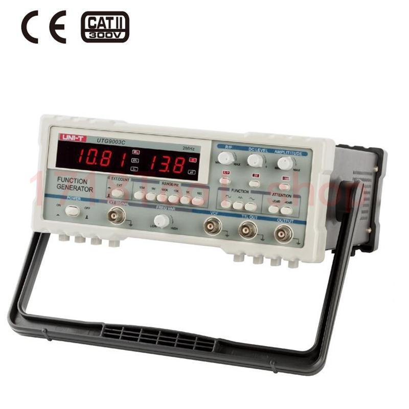 Free Shipping UNI T UTG9003C 2MHZ 25Vp p Digital Function Generator Signal Generator
