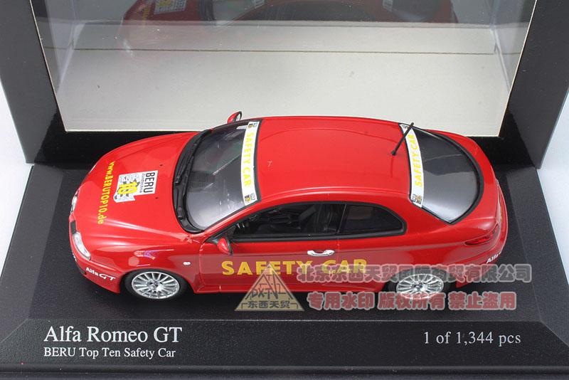 Special mini cut 1:43 Alpha Romeo GT 2004 TOP10 SAFETY BERU<br><br>Aliexpress