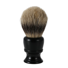 1pc Male Badger Shaving Brush Beauty Man Cleaning Tool Bristle Razor Brush Resin Handle Men's Black Whisker Cleaning Tool(China (Mainland))
