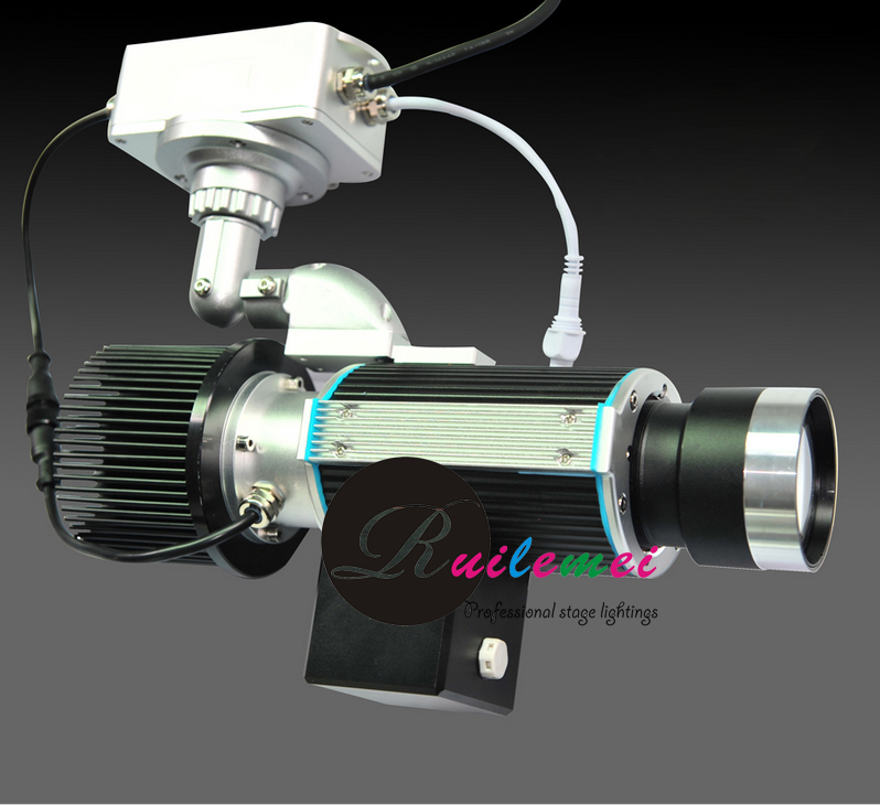 30W Led Gobo Projector Outdoor Projects Message Logo Graphic for Advertising Signs, Trade Show, DJ Event Factory Sales, 2PCS/Lot(China (Mainland))