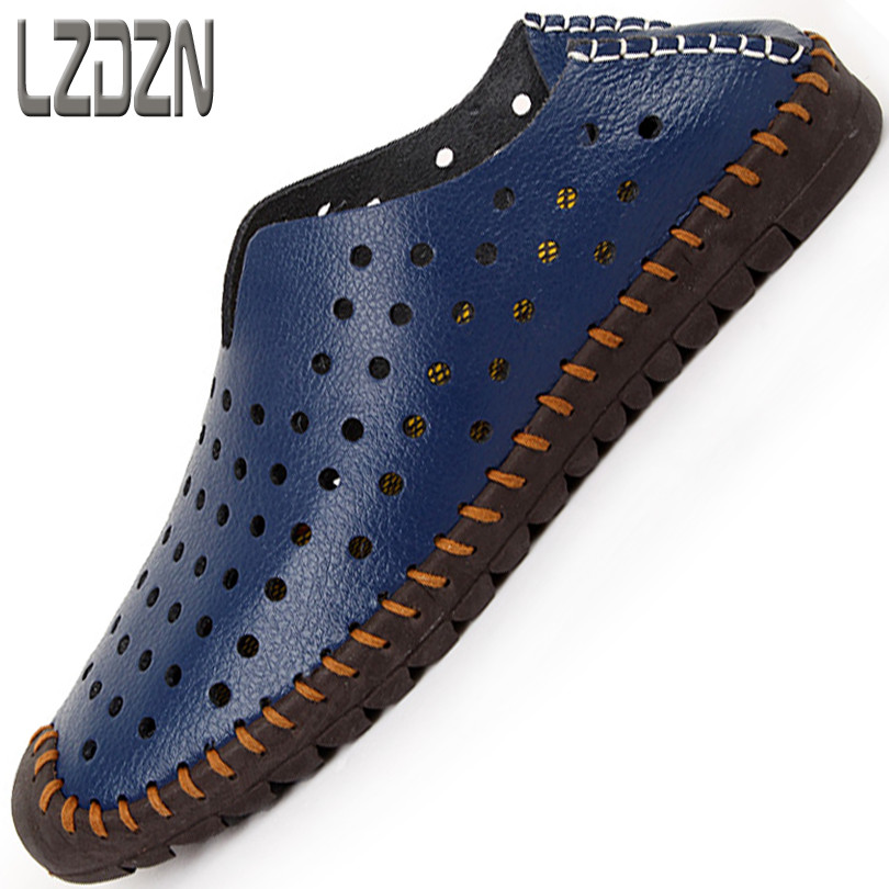 the lazy s shoes without laces leather shoes baotou