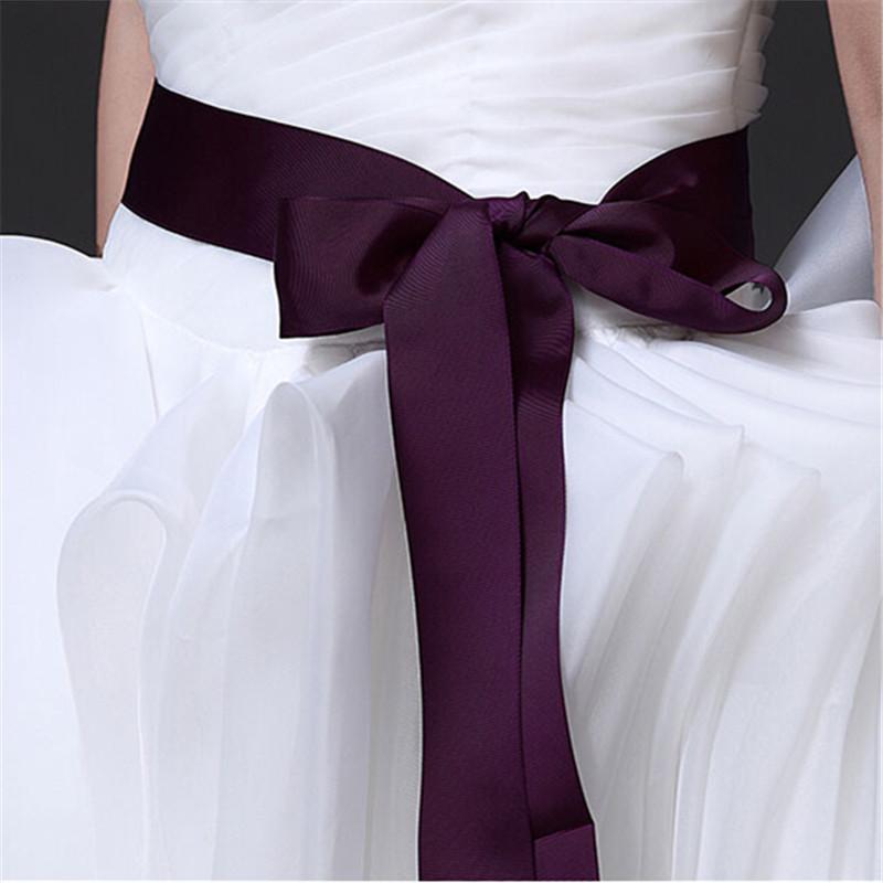 9colors 270cm handmade exquisite beautiful bridal sash
