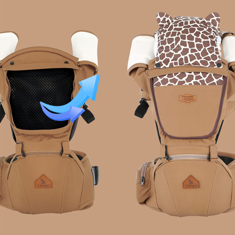 Фотография Baby Carrier Top Baby Sling Baby Backpack Hipseat High Quality Newborn Suspenders New Design Babies Hip Seat