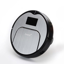 E-World Robot Vacuum Cleaner M883 with Wet and Dry Mop,2 Brush,TouchScreen,HEPA,Schedule,SelfCharge as Gift for Mother(China (Mainland))