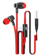 500pieces/lot fashion langston JM21 earphones Stereo with Hands-free and Mic For Apple Samsung Sony HTC LG Mp3 Tablet PC