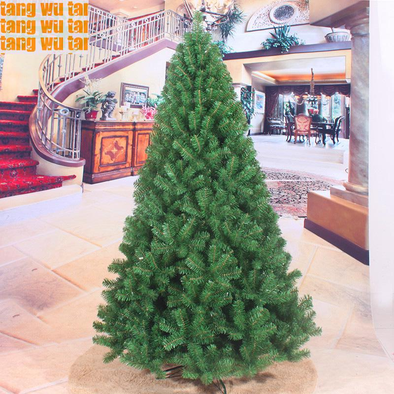 Free shipping Green Christmas Tree Decorations 210cm Encryption 2.1 Meters Package(China (Mainland))