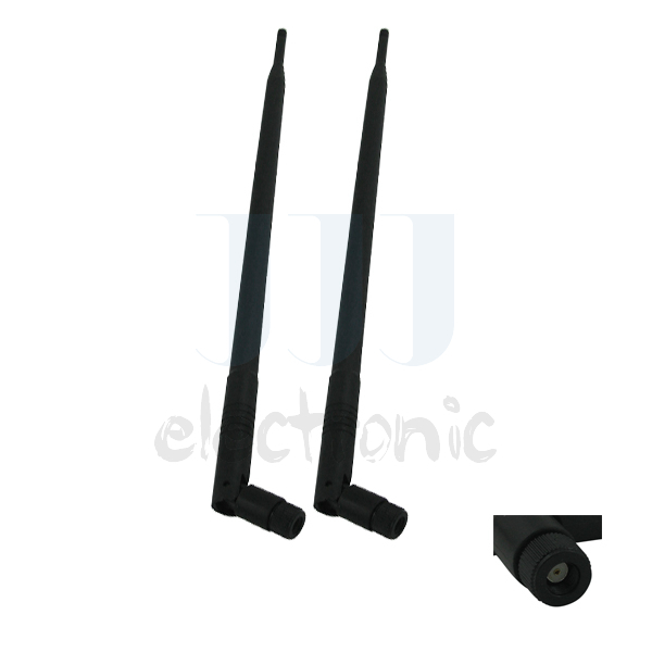 2 9dBi RP-SMA 2.4~5.8GHz Dual Band WiFi Antennas for Mod Kit Buffalo WZR-HP-G450H(China (Mainland))