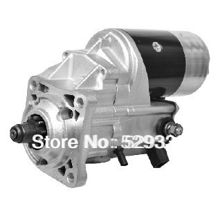 DENSO STARTER MOTOR 228000 1350 228000 1351 143 0539 3E7905 17418 FOR Caterpillar With 4 0l