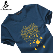 Buy Pioneer Camp 2017 new fashion summer short men t shirt brand clothing cotton comfortable male t-shirt tshirt men clothing 522056 for $9.01 in AliExpress store
