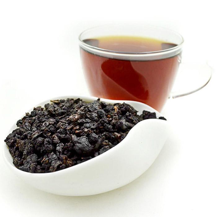 100g black oolong tea Small waist slimming oil cut black oolong authentic black tea oolong original