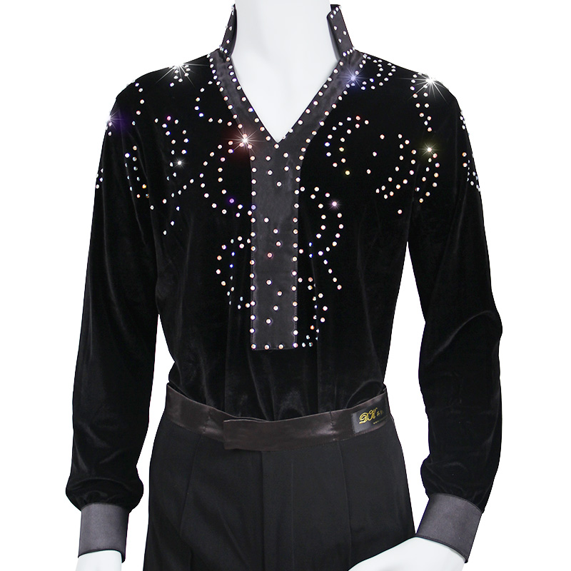 2015 New Arrival Man Ballroom Dance Tops Long Sleeve Latin Shirts Men Dance Shirt Jazz/Waltz/Tango Dancewear men Latin DanceОдежда и ак�е��уары<br><br><br>Aliexpress