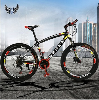 2015The new 26inch mountain bike double disc brakes high cutter wheel group 21speed Personas mountain bikes Russia free shipping