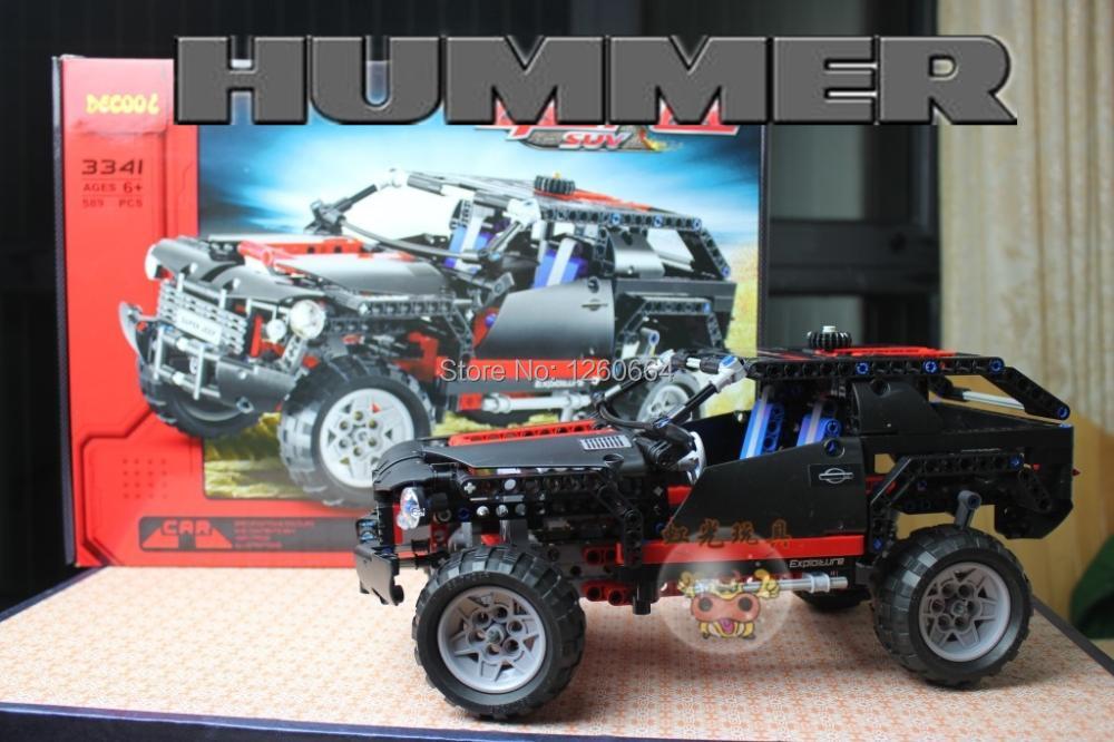Детский набор для моделирования Decool sulban 589pcs Hummer DIY Lego Technic minecraft детский набор для моделирования stirling engine stirling gz001