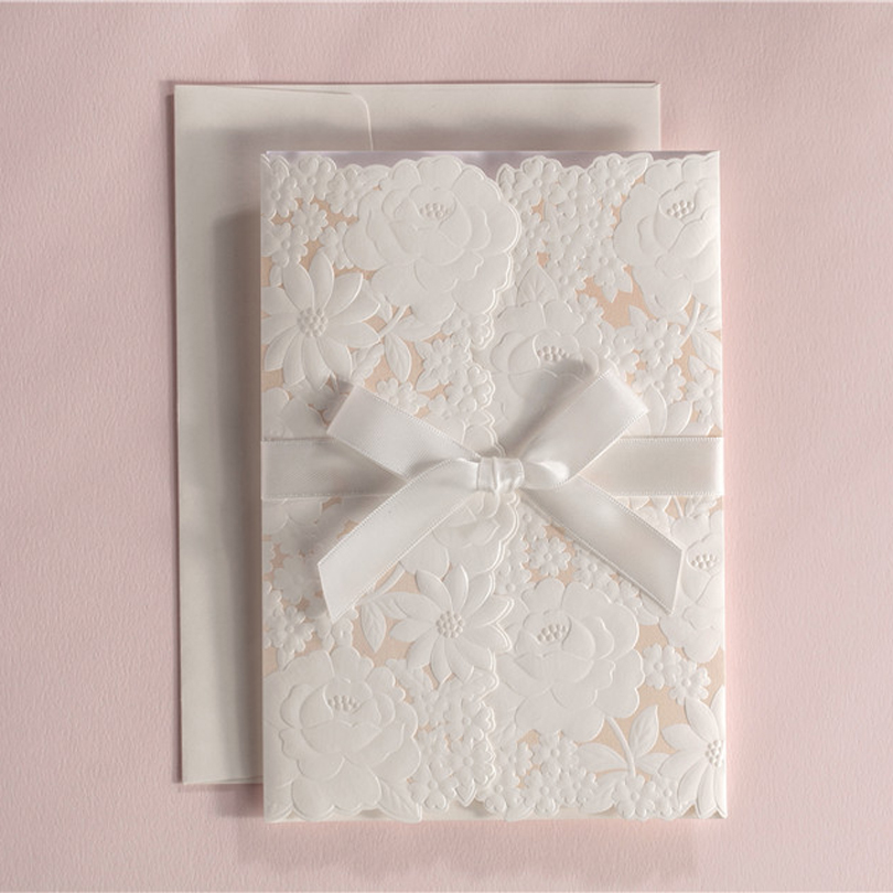 Online Get Cheap Embossed Invitation Cards Aliexpress – Embossed Invitation Cards