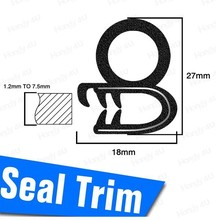 "Rubber Door Seal For Pontiac Grand Am Roof Pillar Weather Stripping 120"" #05(China (Mainland))"