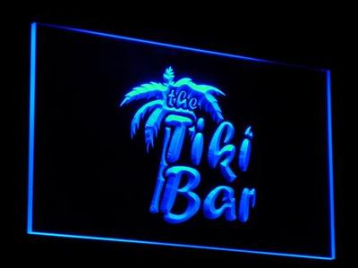 j008-b OPEN Tiki Bar Enseigne Lumineuse LED Neon Light SignWholesale Dropshipping(China (Mainland))