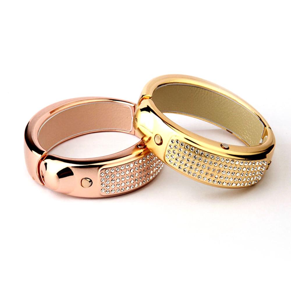 Xiaocai Z1 Luxury Multifunction Dual Bluetooth V4.0/V3.0 Outdoor Smart Bracelet Wrist Smartwatch Watch Band with Bling Diamond(China (Mainland))