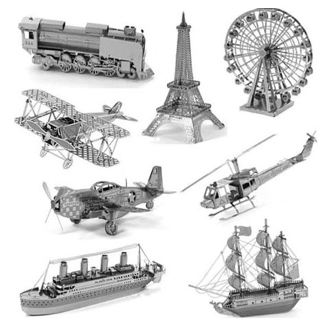 3D jigsaw puzzles kids 2015 Star wars Nano metal DIY scale Model Building architecture educational toys toddlers  -  ShangHai Loty Label Co.,Ltd. store