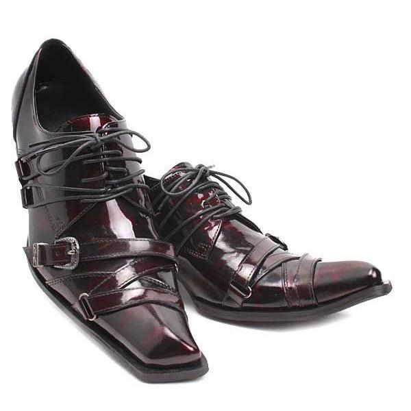 style handmade square toe dress wedding shoes