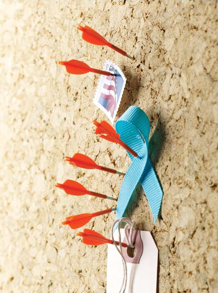 Wind orange bows s pushpin cork wall studs nail photo word nails 20<br><br>Aliexpress