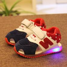 2015 summer child shoes child sandals 1 - 3 years old baby sport shoes male female child soft outsole baby toddler shoes(China (Mainland))