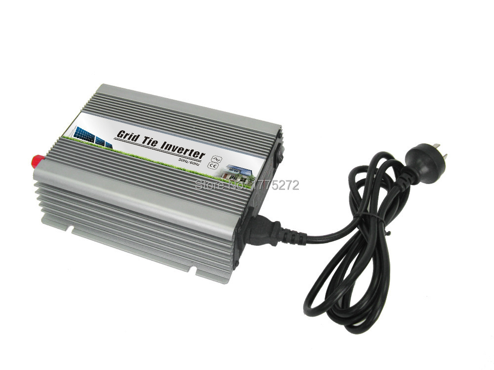 AC Output 190-260VAC 500W Watt Micro Grid Tie Inverter Accept DC 22-60V Solar Power Pure Sine Wave MPPT Voltage 24-48V 2015 New