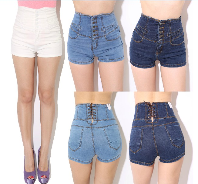 Womens Shorts High Waisted - The Else