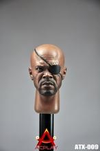 [1/6 FIGURE head]ACPLAYSHIELD Nick head sculptor 1/6 man Action Figure head 12inch super movable figure toy doll head