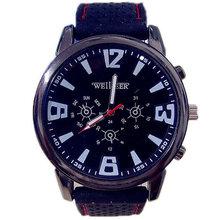 Hot Sale Military Pilot Aviator Army Silicone Watch Men Sports Quartz Wrist Watch Relogio Masculino 1913