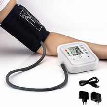 arm blood pressure bp monitor tonometer hematomanometer sphygmomanometer pulsometros health monitors care for heart nonvoice(China (Mainland))