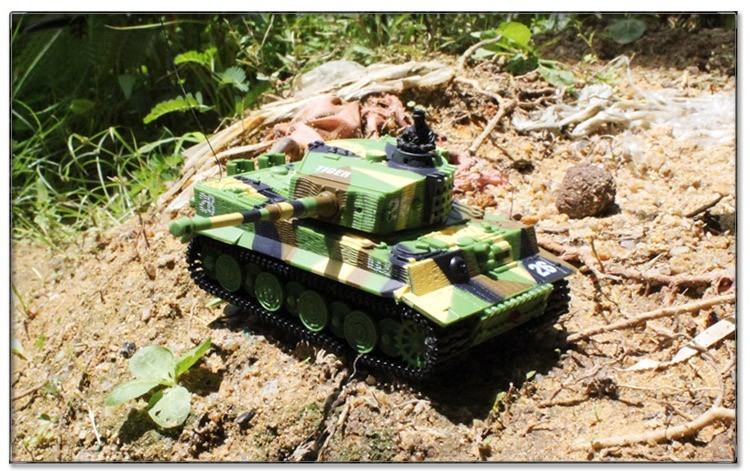 Great Wall 2117 RC Tank 14CH 1:72 Remote Control Tank Mini Tiger Battle Tank Best Christmas Toy Gift for Children