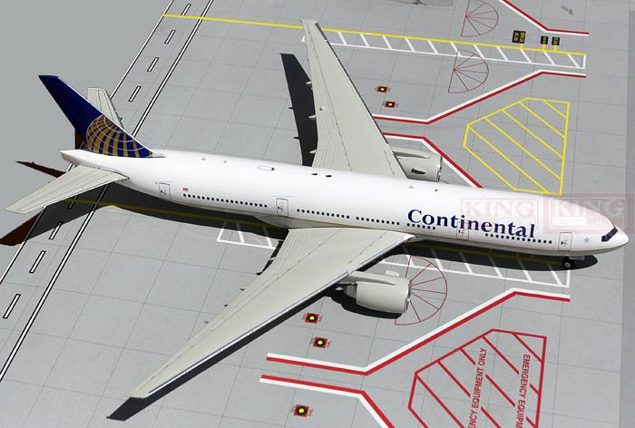 GeminiJets Continental Airlines N77012 G2COA150 1:200 B777-200 commercial jetliners plane model hobby(China (Mainland))