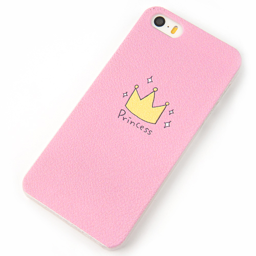 Phone Cases for iPhone 5 5S Case princess prince Crown Cover Brand New Arrive 2015 mobile phone bags & cases Screen Protector(China (Mainland))