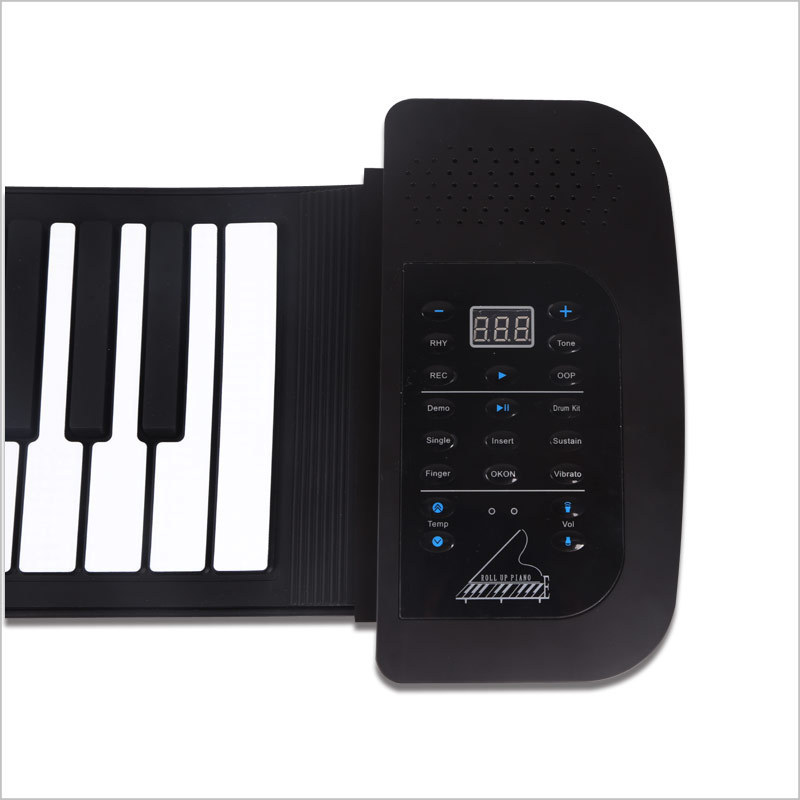 2015 Electronic Synthesizer Silicone Roll USB Flexible Piano 61 Keys Controlador Electric Keyboard MIDI Controller for Computer(China (Mainland))