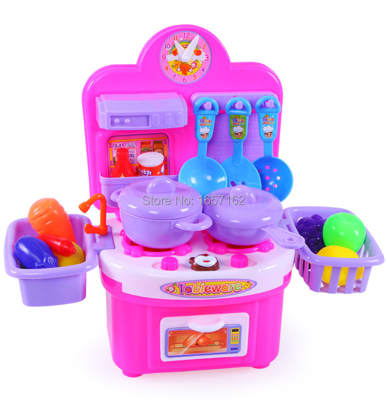 Play Cooking Toys : Aliexpress buy fashion baby kitchen play set cooking