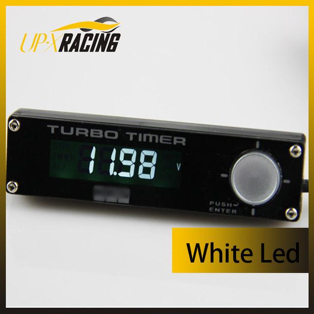 High quality Universal 12V digital turbo Timer type0 White led  turbo cooling timer