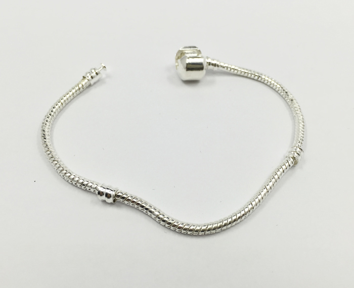 Fashion Silver Bracelet women Snake Bangle European Charm Beads bracelet Fits Pandora Bracelets Chain(China (Mainland))