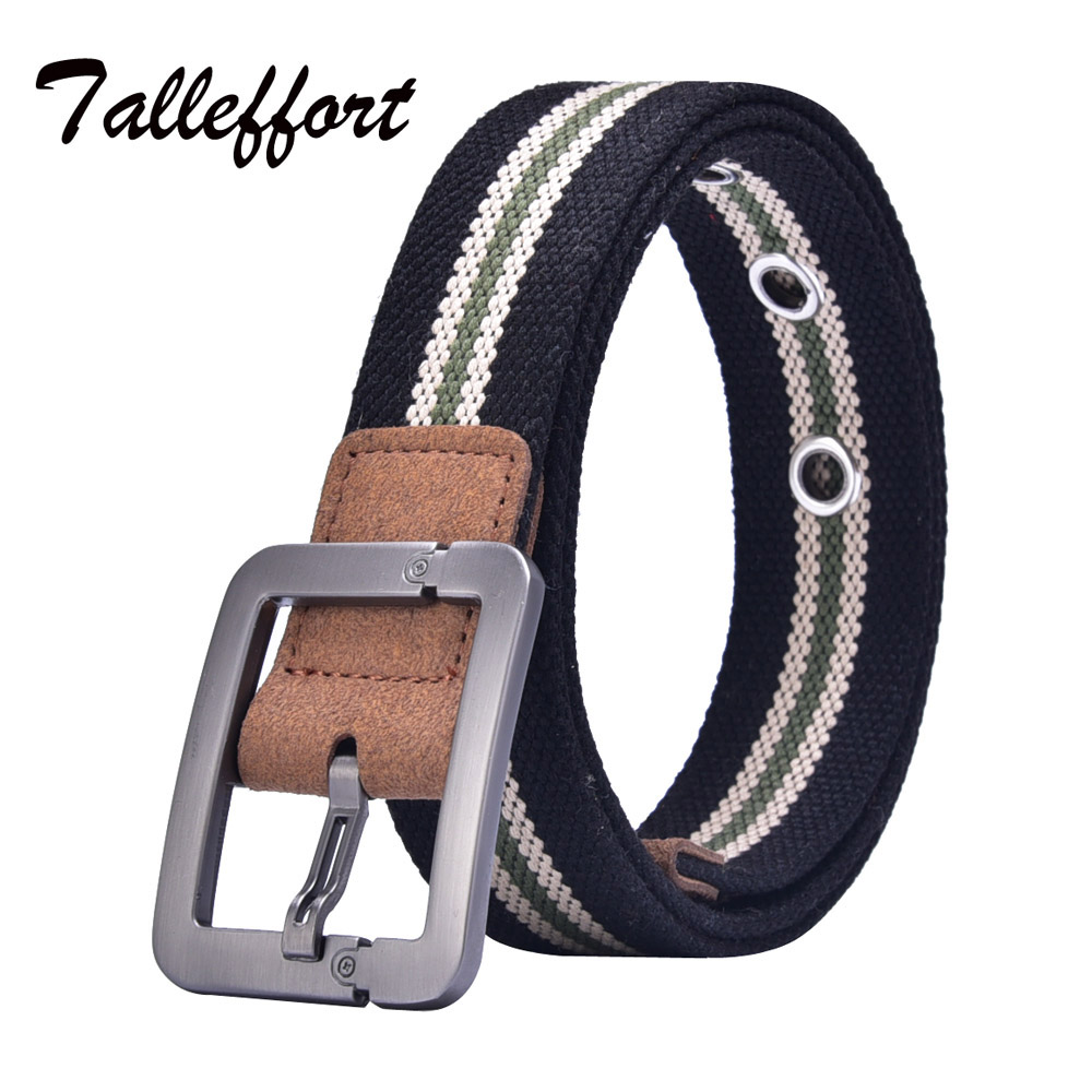 2016 Hot NOS Men Canvas Outdoor Belt Military Equipment Cinturon Western Strap Men's Belts Luxury For Men(China (Mainland))