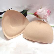 2 PCS Insert Push Up Incrassation Removeable Enhancer Bra Pads Swimsuit Bikini(China (Mainland))