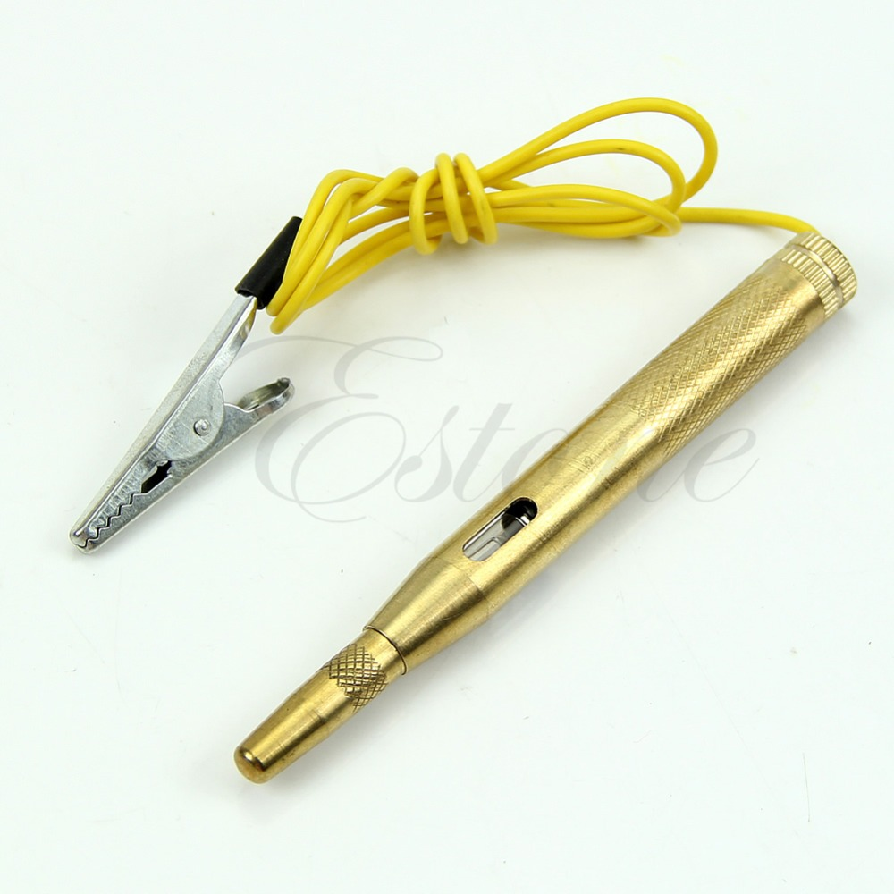 A31 Free Shipping 1PC DC 6V-24V Auto Car Truck Motorcycle Circuit Voltage Tester Test Pen(China (Mainland))