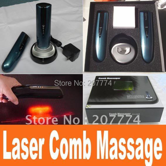 Restoration head hair Comb brush Kit products laser Hair Care Treatment Hairmax Laser Hair comb massage brush comb 110v,220v