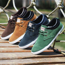 Brand Men Shoes Casual Lace Up Canvas Shoes Men 2015 Flats Shoes For Men Trainers Black(China (Mainland))