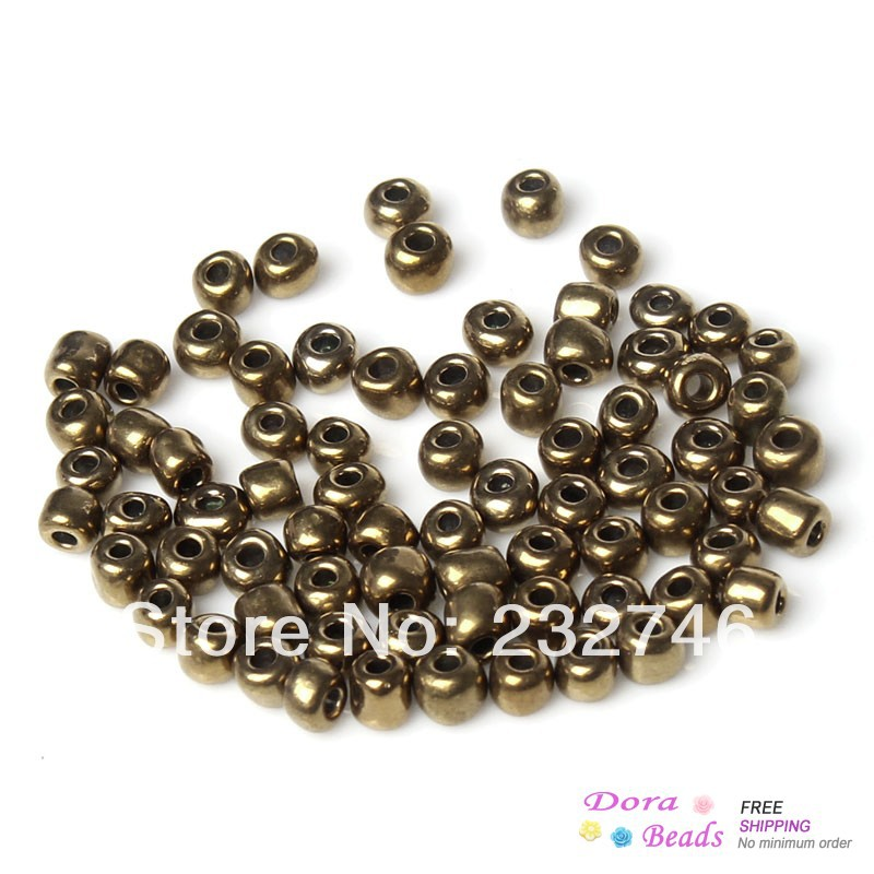 Buy doreenbeads 6 0 glass seed beads for Natural seeds for jewelry making